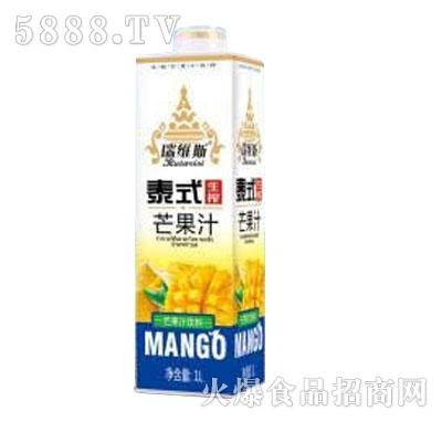 瑞�S斯泰式芒果汁�料1L