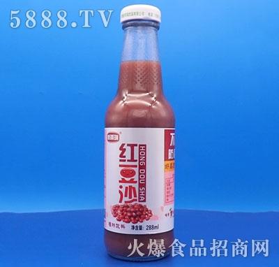 新雨瑞红豆沙饮料288ml产品图