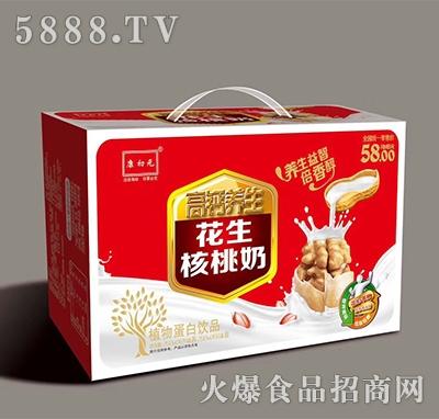 康初元高钙养生花生核桃奶250mlx24盒