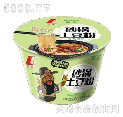 丽星砂锅土豆粉酸辣味(桶装)