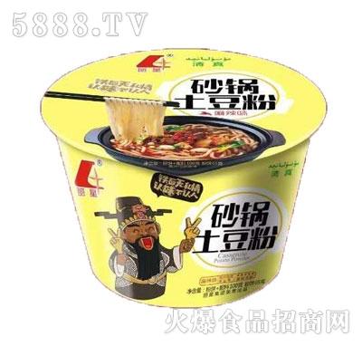 丽星砂锅土豆粉麻辣味(桶装)