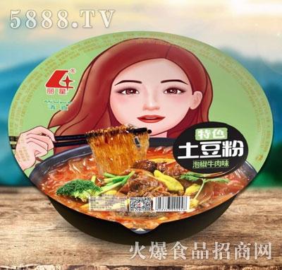 丽星特色土豆粉(泡椒牛肉味)
