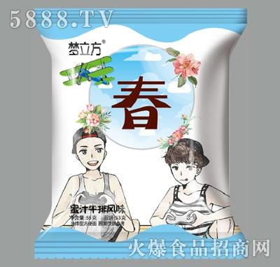 梦立方蜜汁牛排风味方便面(春)产品图
