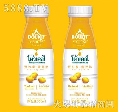 豆可泰黄豆奶350ml瓶装
