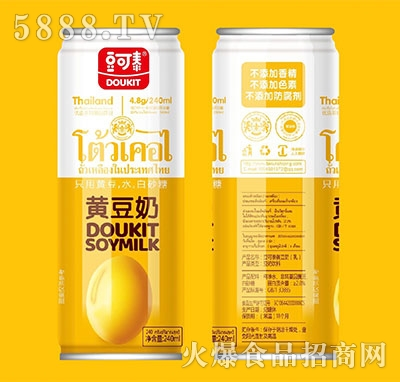 豆可泰黄豆奶240ml