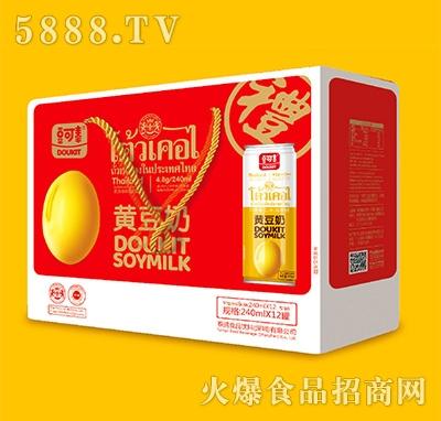 豆可泰黄豆奶240mlx12罐手提