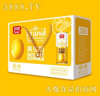 豆可泰黄豆奶240mlx12罐
