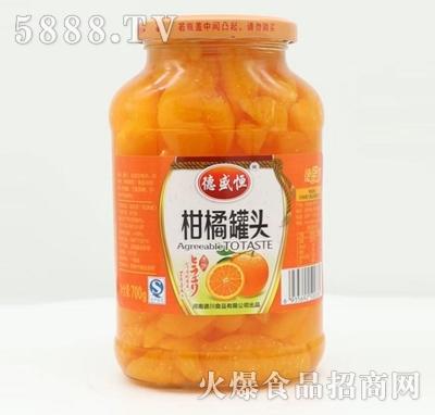 德盛恒柑橘罐头700g产品图