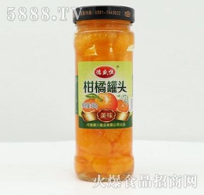 德盛恒柑橘罐头450g产品图
