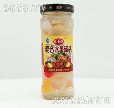 德盛恒混合水果罐头450g产品图