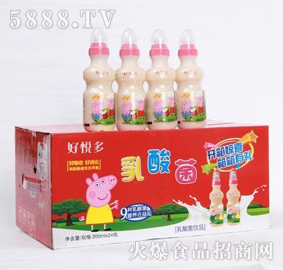 好悦多儿童乳酸菌饮品200mlx12瓶产品图