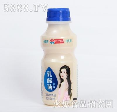 喜三郎原味乳酸菌饮品340ml产品图