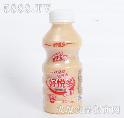 好悦多草莓味乳酸菌饮品340ml