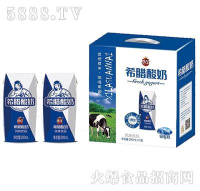 尊仕希腊酸奶200mlx12盒