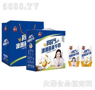 尊仕澳洲燕麦牛奶200mlx12盒产品图