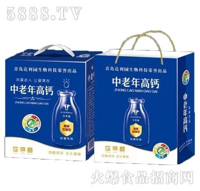 青岛达利园中老年高钙乳味饮品