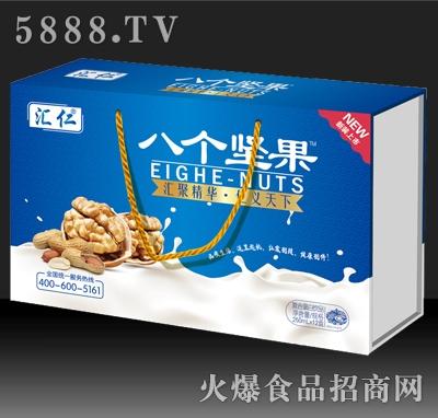 汇仁八个坚果复合蛋白饮品250mlx12盒精品木盒装