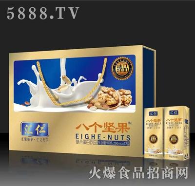 汇仁八个坚果复合蛋白饮品250mlx12盒