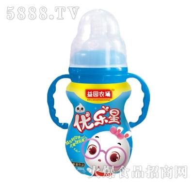 益园农场优乐星蓝瓶儿童饮品200ml