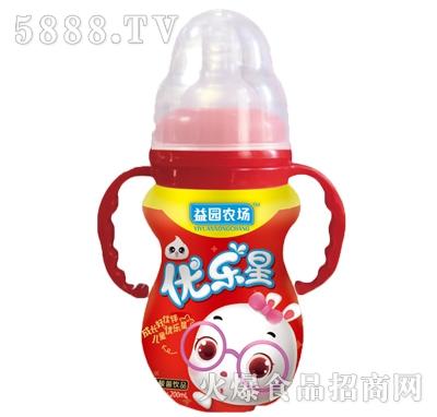 益园农场优乐星红瓶儿童饮品200ml