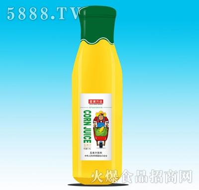 蓝溪万达玉米汁饮料1.06L产品图
