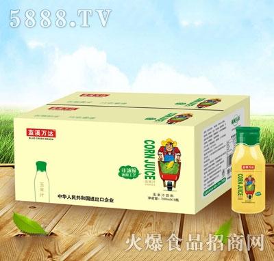 蓝溪万达玉米汁饮料280mlx15瓶产品图