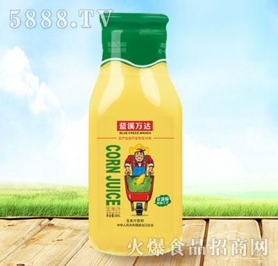 蓝溪万达玉米汁饮料280l产品图