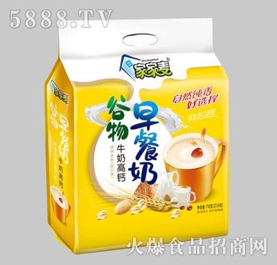 家家麦谷物牛奶高钙早餐奶750克产品图