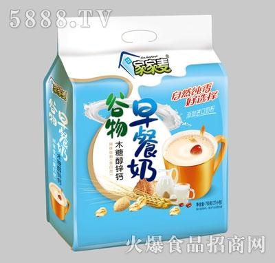 家家麦谷物木糖醇锌钙早餐奶750克