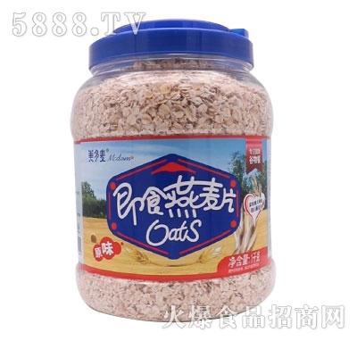 美多麦即食燕麦片原味1千克产品图