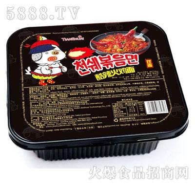 火鸡面盒装(酷辣)产品图
