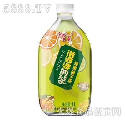 港婆婆的茶蜂蜜柚子茶1L