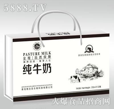 格吉亚纯牛奶250mlX12