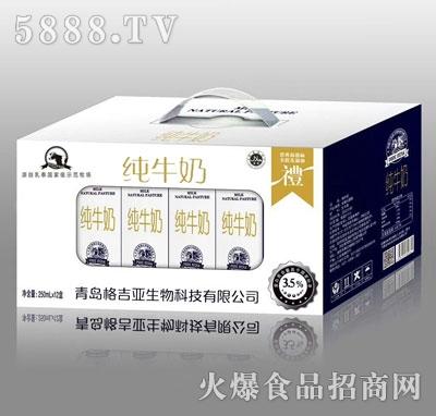 格吉亚纯牛奶250mlX12盒