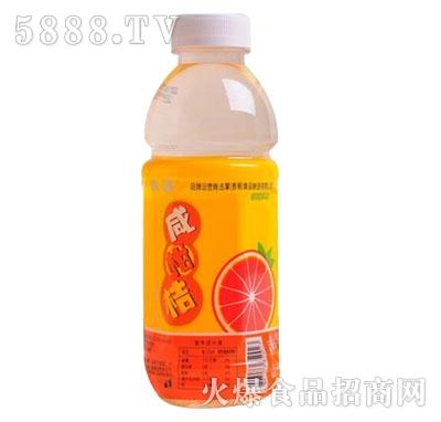 击掌咸柑桔风味饮料