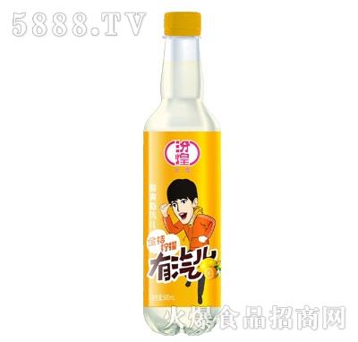 汾煌金桔柠檬碳酸饮料500ml