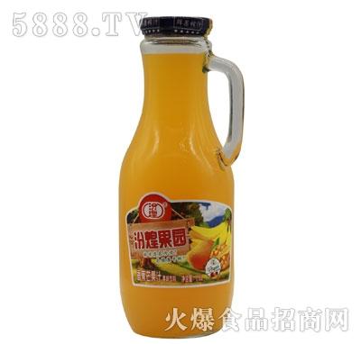汾煌果园香蕉芒果汁饮料1.5L