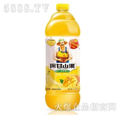 阿甘山果香蕉+芒果复合果汁