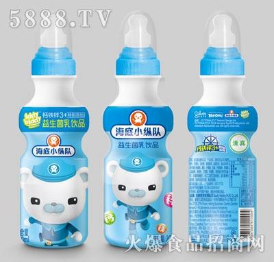 海底小纵队益生菌乳饮品200毫升