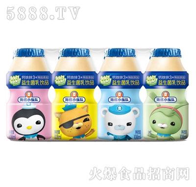 海底小纵队益生菌乳饮品108mlx4瓶