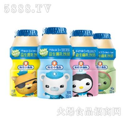 海底小纵队益生菌乳饮品108ml系列产品