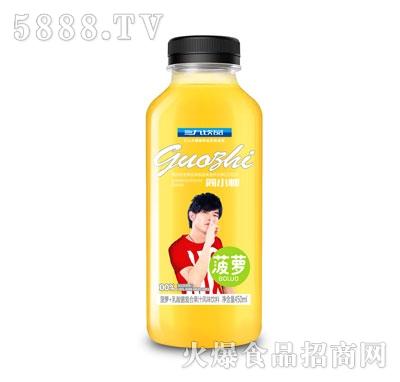 三九饮品简小帅菠萝乳酸菌复合果汁饮料450ml