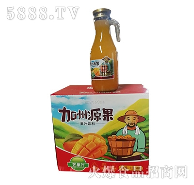 加州源果芒果汁1.5Lx6瓶