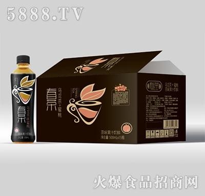伊思特春茶乌龙茶+蜜桃茶味果汁饮料500mlx15瓶