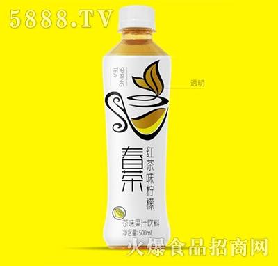 伊思特春茶红茶味柠檬茶味果汁饮料500ml
