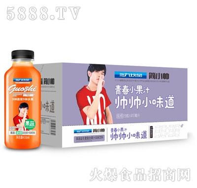 三九饮品果蔬益生菌复合果汁风味饮料410mlx15瓶