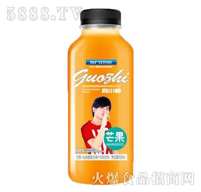 三九饮品芒果+乳酸菌复合果汁风味饮料450ml