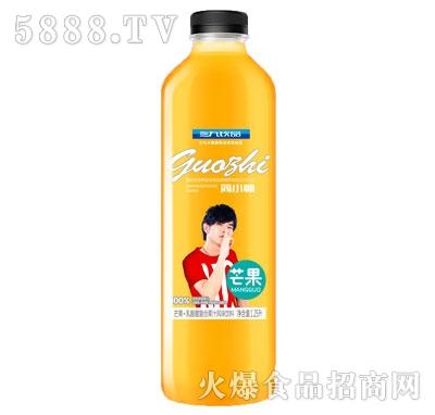 三九饮品芒果+乳酸菌复合果汁风味饮料1.25L