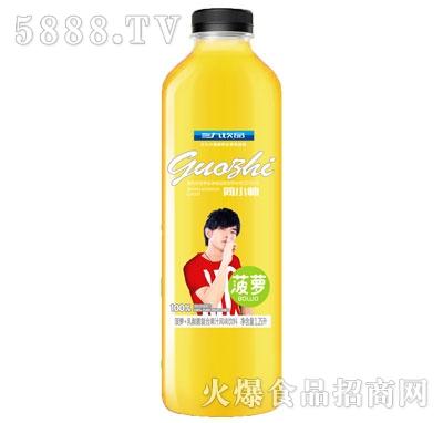 三九饮品菠萝+乳酸菌复合果汁风味饮料1.25L