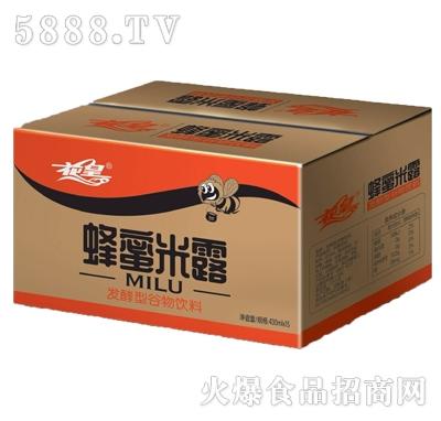 花皇蜂蜜米露发酵型谷物饮料430mlx15瓶